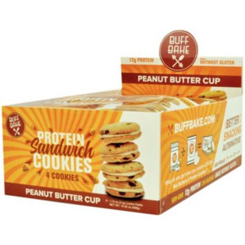 Buff Bake Sandwich Cookie - PEANUT BUTTER CUP (8 Cookie(S)) by Buff Bake at the Vitamin Shoppe