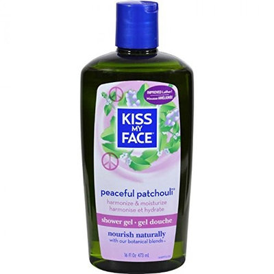 Kiss My Face Peaceful Patchouli Bath & Shower Gel 473 ml by Kiss My Face