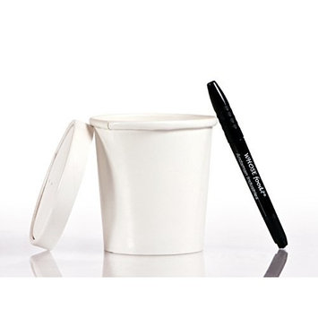 Solo 16oz Take Out Cup & Lid (25ct) – Durable for Soup, Ice Cream, Frozen Yogurt, and To-Go Lunches - Bundled with WhoseFood?® Pen - Hot / Cold Paper Food Container for Storage and Freezer