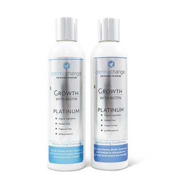 Hair Growth Organic Shampoo & Conditioner Set - With Biotin and Argan Oil - Supports Regrowth & Prevents Hair Loss - For Dry Damaged & Color-Treated...
