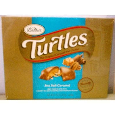 DeMet's Turtles Sea Salt Caramel Milk Chocolate and Premium Pecans 6.4 oz. box