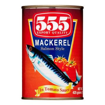 555 Mackerel In Tomato Sauce (Large), 425 Gram
