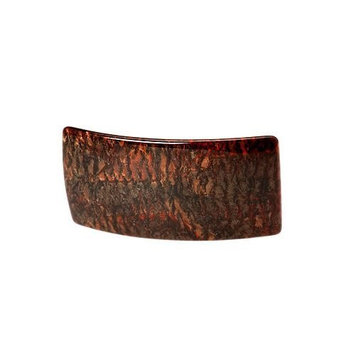 France Luxe Wide Rectangle Barrette - Mojave