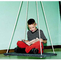 Take A Swing Homestand II Carpeted Platform Swing, 30