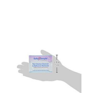 Safe n' Simple Peri-Stoma Cleanser and Adhesive Remover, Individually Wrapped, 50 Count