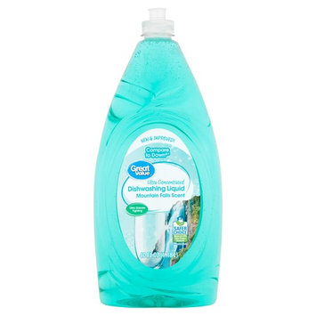 Great Value Ultra Concentrated Dishwashing Liquid, Mountain Falls Scent, 40 fl oz