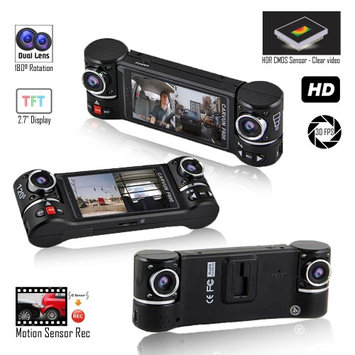 Indigi-usa Indigi NEW F600 Dashboard DVR Camera [ HD @ 30fps + 2.7