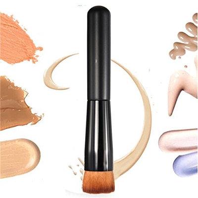 ISALI 1pcs Flat Makeup Brush Facial Face Cosmetics Blush Foundation Cream Powder