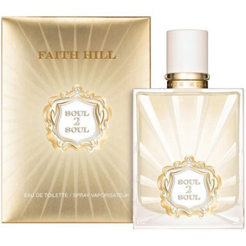 Faith Hill Soul 2 Soul Eau De Toilette Spray