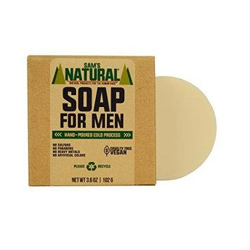 Sam's Natural Soap for Men - Bar Soap - Natural - Vegan and Cruelty Free - America's Favorite