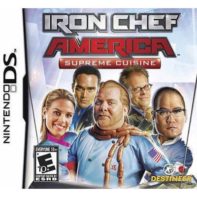 Destineer Iron Chef America: Supreme Cuisine (Nintendo DS)