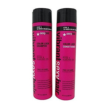 Sexy Hair Vibrant Sexy Sulfate-Free Color Lock Shampoo & Conditioner Duo 10.1 fl.oz. each
