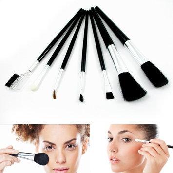 Atb 7 Pcs Cosmetic Tool Kit Eyebrow Eyeshadow Professional Makeup Brushes Soft Set!