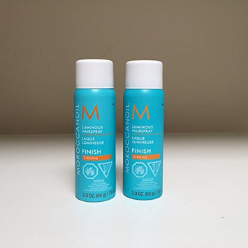 Moroccan Oil Luminous Hairspray Strong Hold 2.3 oz - SET of 2