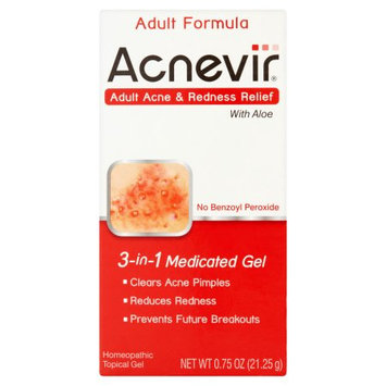 Alva-amco Pharmacal Cos. Inc. Acnevir Adult Acne & Redness Relief, 3-in-1 Medicated Gel, .75 oz