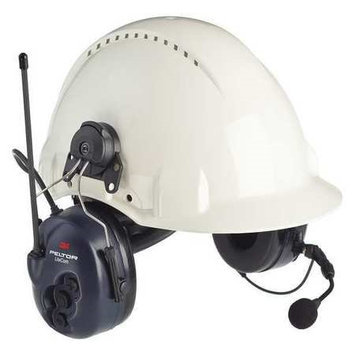 3M Helmet Attached Over Ear (Two Ear, Blue, Noise Canceling Yes). Model: MT53H7P3E4600-NA