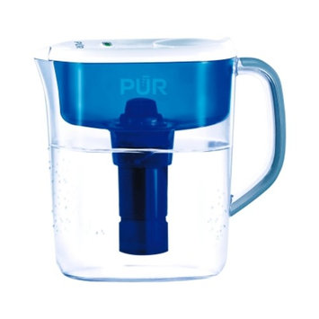 PUR Blue/White 7 cups Drinking Water Filter Pitcher(PPT711W)