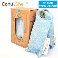 Premium Coconut Shell Charcoal Natural Air Purifying Bag And Shoe Deodorizer (2 pieces)