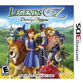 Madcow Legends of Oz: Dorothy's Return (Nintendo 3DS) - Pre-Owned