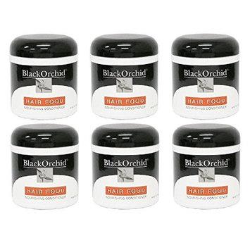 Black Orchid Hair Food Nourishing Conditioner, 7 Oz (Pack of 6) + FREE Makeup Blender Sponge