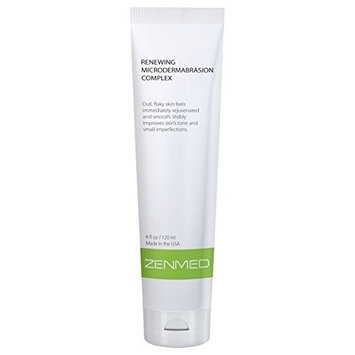 ZENMED Renewing MicroDermabrasion Complex - 4 oz. 100% Vegetarian Formula of Heavy Mineral Clay Created To Minimize Visibility of Scars Uneven Skin Tone Fine Lines & Oily Skin