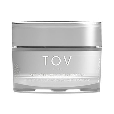 TOV LABS Anti Aging Moisturizing Cream, DAY/NIGHT, with Retinol, Peptide Complexes, and Hyaluronic Acid (50 mL) Vegan