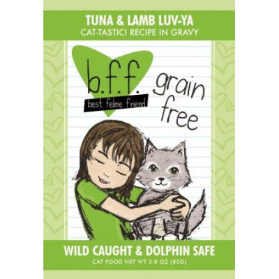 Weruva International WU00769 Best Feline Friend Tuna - Lamb Luv Yas Pouch 24 - 3 Oz.