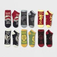 Women's 6pk Low Cut Game of Thrones Casual Socks - 9-11