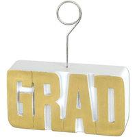 Grad PhotoBalloon Holder 6 Oz - Maroon
