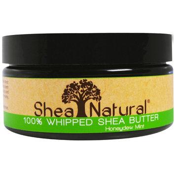 SHEA NATURAL SHEA BTR,WHIP,HNYDEW MINT, 6.3 OZ