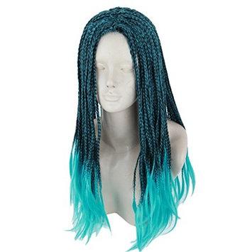 Topcosplay Child Kids Wig Anime Cosplay Wig Halloween Costume Braids Wigs