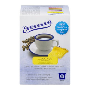 Entenmann's Coconut Cream Pie Single Serve Coffee, .35 oz, 10 count