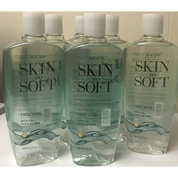 Avon Skin So Soft Original Bath Oil lot of 6 25 oz