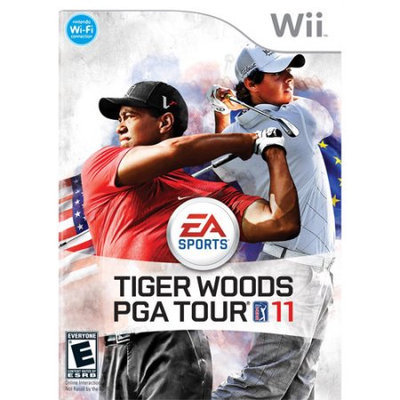 Electronic Arts 19360 Tiger Woods Pga Tour 11 Wii