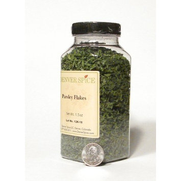Parsley Flakes- ( Case of 4 )Large Clear Easy Grip Jar