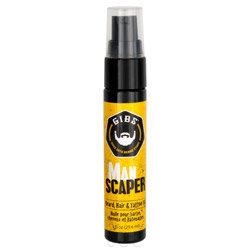 Gibs Man Scaper Beard, Hair & Tattoo Oil 4 oz