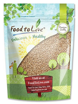 Food To Live Hard Red Wheat Berries (Sprouting for Wheatgrass) (1 Pound)