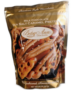 Betsy Ann Chocolates Sea Salt Caramel Pretzels
