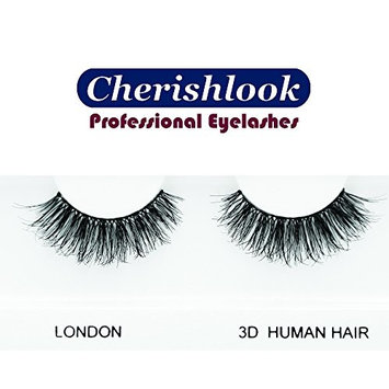 Cherishlook 3D Human Hair Eyelashes (LONDON) - 5packs