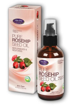 Pure Rosehip Oil Organic Life Flo Health Products 4 oz Liquid