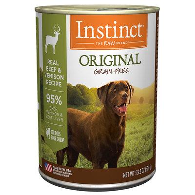 Natures Variety Nature's Variety Instinct Grain-Free Venison Formula Canned Dog Food, 13.2 oz, Case of 6