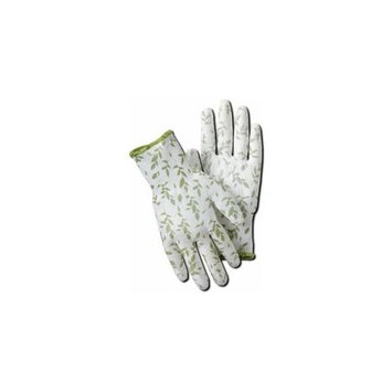 Magid Glove BE319TL Bella Polyurethane Coated Utility Garden Glove Large Pack Of 6