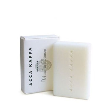 Acca Kappa Soap, White Moss, 3.5 Oz (100 G) Soaps (Pack of 2)