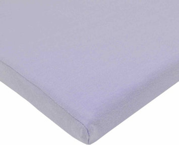 American Baby Company Supreme Jersey Bassinet Sheet - Lavender - 2 Pack