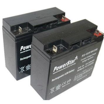 PowerStar UB12180 RBC50 SLA 12V 18AH T4 TERMINAL - PACK OF 2
