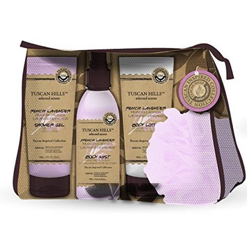 Tuscan Hills 4 Piece Body Care Set French Lavender