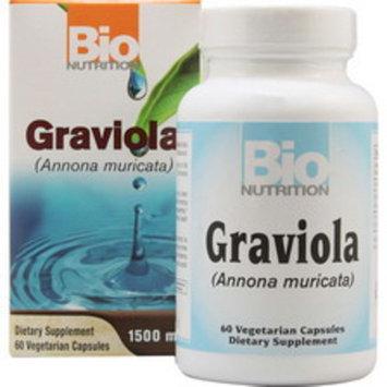 Bio Nutrition Graviola Vegetarian Capsules 1500mg 60CT