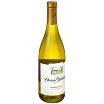 Chateau Ste. Michelle Columbia Valley Chardonnay Wine Bottle