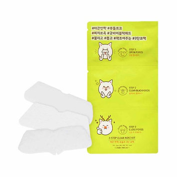(6 Pack) ETUDE HOUSE 3-Step Clear Nose Kit