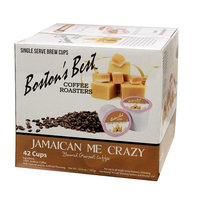 Boston's Best Single Serve K-Cup Coffee, Jamaican Me Crazy, 42 Count [Jamaican Me Crazy]